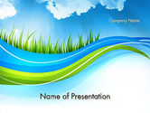 Nature & Environment: Saubere natur PowerPoint Vorlage #12117