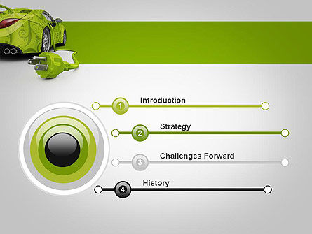 Green Automotive Innovations PowerPoint Template, Slide 3, 12118, Cars and Transportation — PoweredTemplate.com