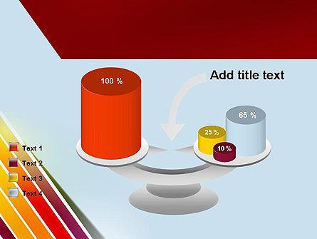 Tilted Stripes PowerPoint Template Slide 10
