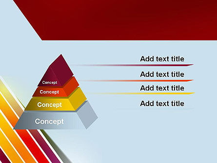 Tilted Stripes PowerPoint Template Slide 12