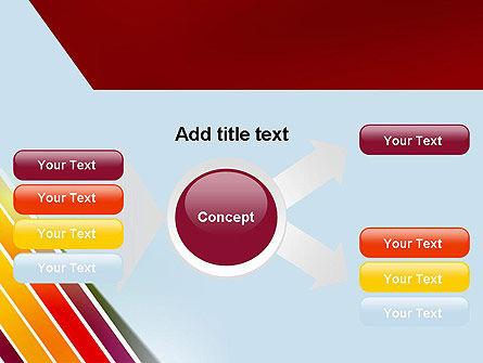 Tilted Stripes PowerPoint Template Slide 14