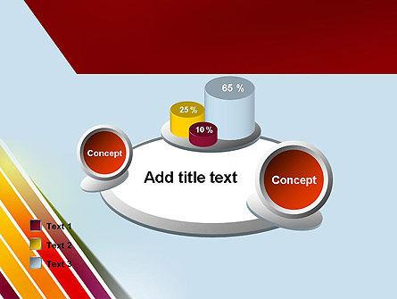 Tilted Stripes PowerPoint Template Slide 16
