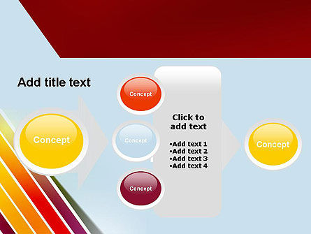 Tilted Stripes PowerPoint Template Slide 17