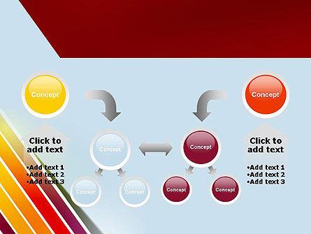 Tilted Stripes PowerPoint Template Slide 19