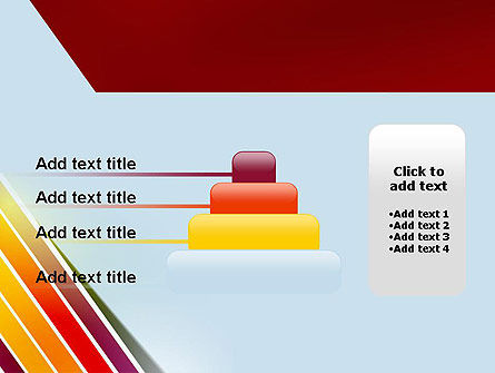 Tilted Stripes PowerPoint Template Slide 8