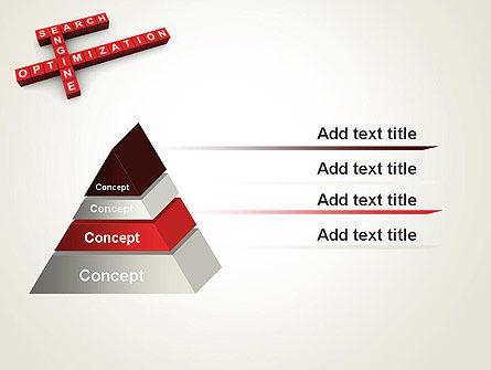 SEO Crossword PowerPoint Template Slide 12