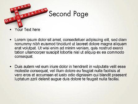 SEO Crossword PowerPoint Template Slide 2