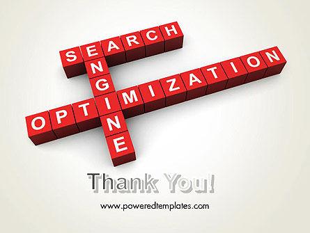 SEO Crossword PowerPoint Template Slide 20