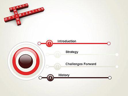SEO Crossword PowerPoint Template, Slide 3, 12123, Careers/Industry — PoweredTemplate.com