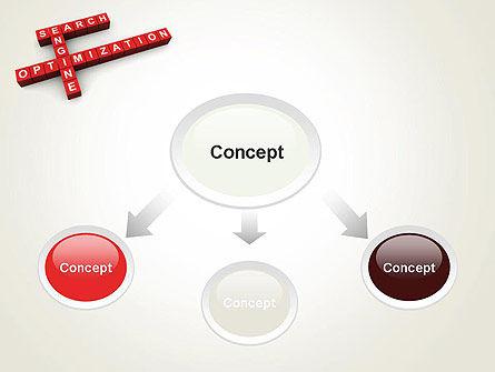 SEO Crossword PowerPoint Template, Slide 4, 12123, Careers/Industry — PoweredTemplate.com
