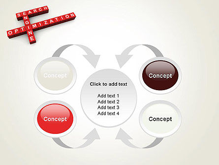 SEO Crossword PowerPoint Template Slide 6