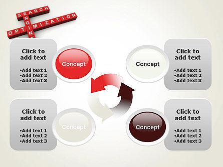 SEO Crossword PowerPoint Template Slide 9