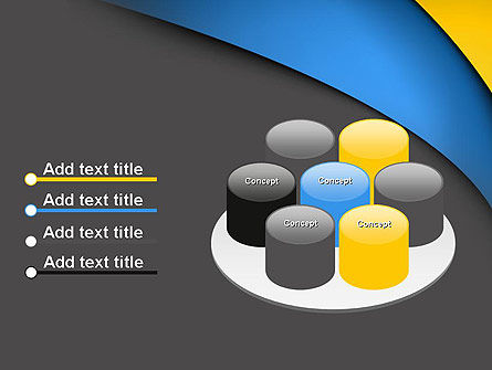 Colored Curves PowerPoint Template Slide 12
