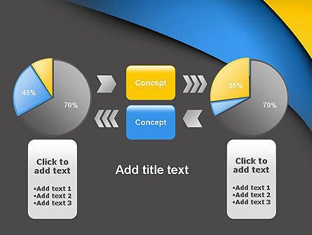 Colored Curves PowerPoint Template Slide 16