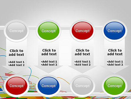 Abstract Streaming Colorful Rectangles PowerPoint Template Slide 18