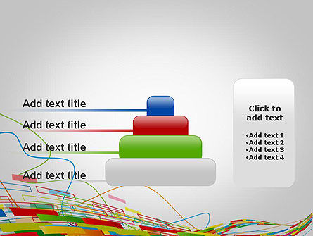 Abstract Streaming Colorful Rectangles PowerPoint Template Slide 8