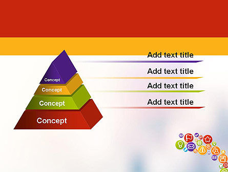 Colorful Icons PowerPoint Template Slide 12