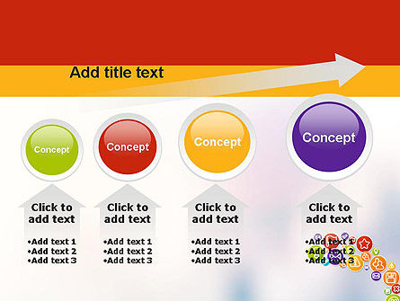 Colorful Icons PowerPoint Template Slide 13