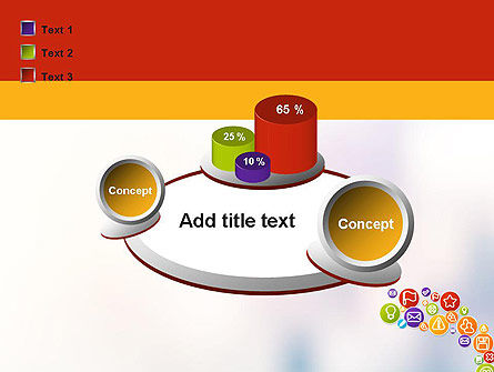 Colorful Icons PowerPoint Template Slide 16
