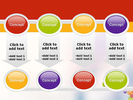 Colorful Icons PowerPoint Template Slide 18