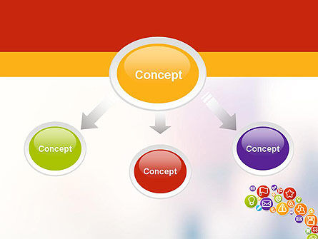 Colorful Icons PowerPoint Template Slide 4