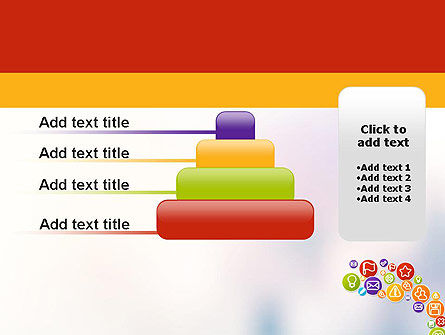 Colorful Icons PowerPoint Template Slide 8