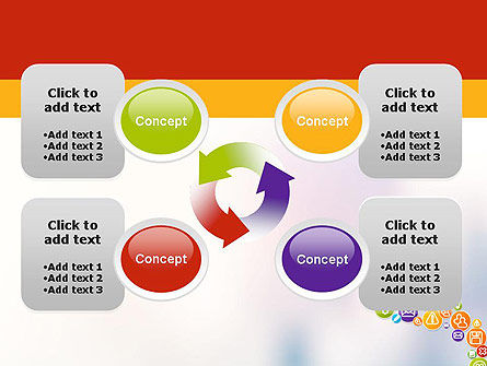 Colorful Icons PowerPoint Template Slide 9