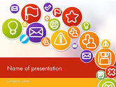 Careers/Industry: Colorful Icons PowerPoint Template #12132