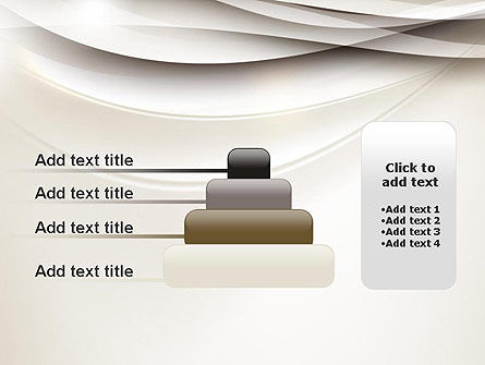 Beige Blurry Waves and Curved Lines PowerPoint Template Slide 8