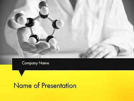Technology and Science: Chemical PowerPoint Template #12137