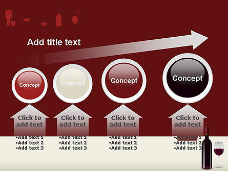 Wine Themed PowerPoint Template Slide 13