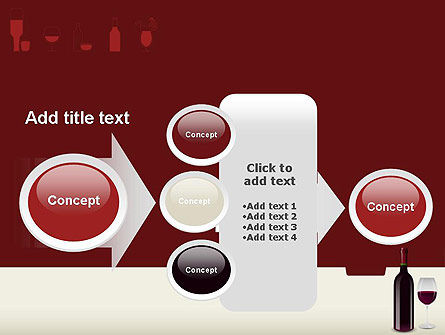 Wine Themed PowerPoint Template Slide 17
