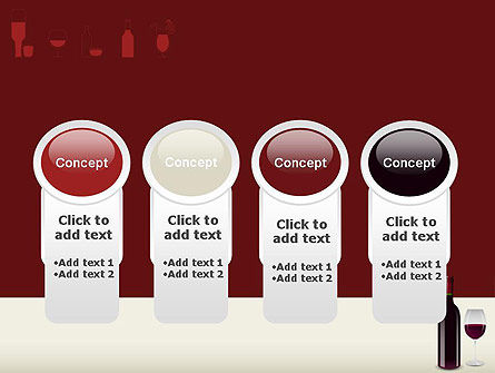 Wine Themed PowerPoint Template Slide 5