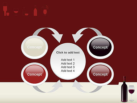 Wine Themed PowerPoint Template Slide 6