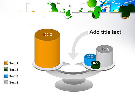 Puzzle Background PowerPoint Template Slide 10