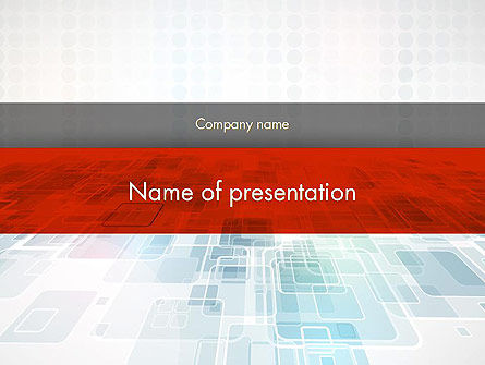 Abstract Business Background PowerPoint Template, 12141, Abstract/Textures — PoweredTemplate.com