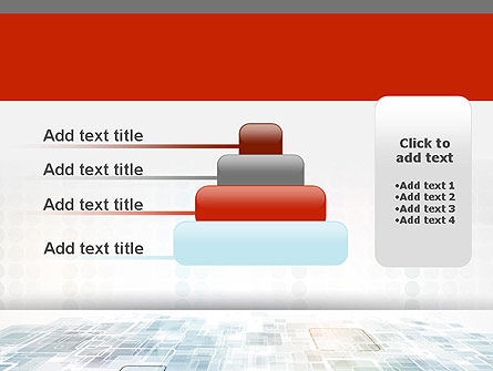 Abstract Business Background PowerPoint Template Slide 8