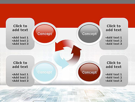 Abstract Business Background PowerPoint Template Slide 9