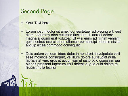 Renewable vs Nonrenewable Energy PowerPoint Template, Slide 2, 12142, Nature & Environment — PoweredTemplate.com