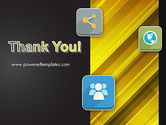 Communication and Social Networking PowerPoint Template#20