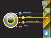 Communication and Social Networking PowerPoint Template#3