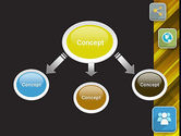Communication and Social Networking PowerPoint Template#4