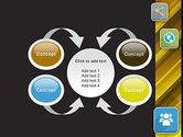 Communication and Social Networking PowerPoint Template#6