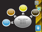 Communication and Social Networking PowerPoint Template#7