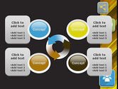 Communication and Social Networking PowerPoint Template#9