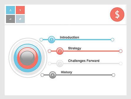 Minimalist Financial Presentation PowerPoint Template Slide 3