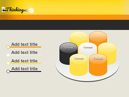 Thinking Concept PowerPoint Template Slide 12
