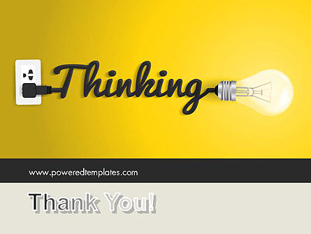 Thinking Concept PowerPoint Template Slide 20