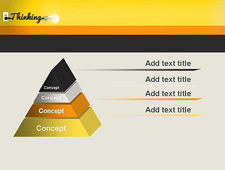 Thinking Concept PowerPoint Template Slide 4