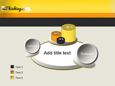 Thinking Concept PowerPoint Template Slide 6